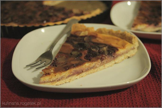 Tarta serowo-wiśniowa