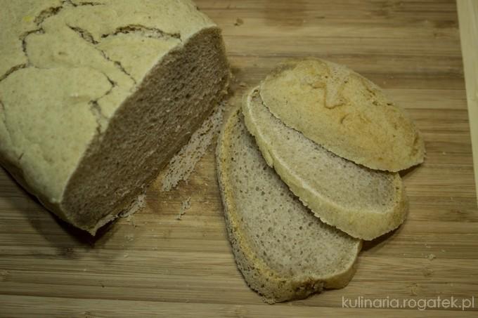Chleb gryczany z oliwą